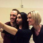 #ConchitaWurst  in  #Melodifestivalen