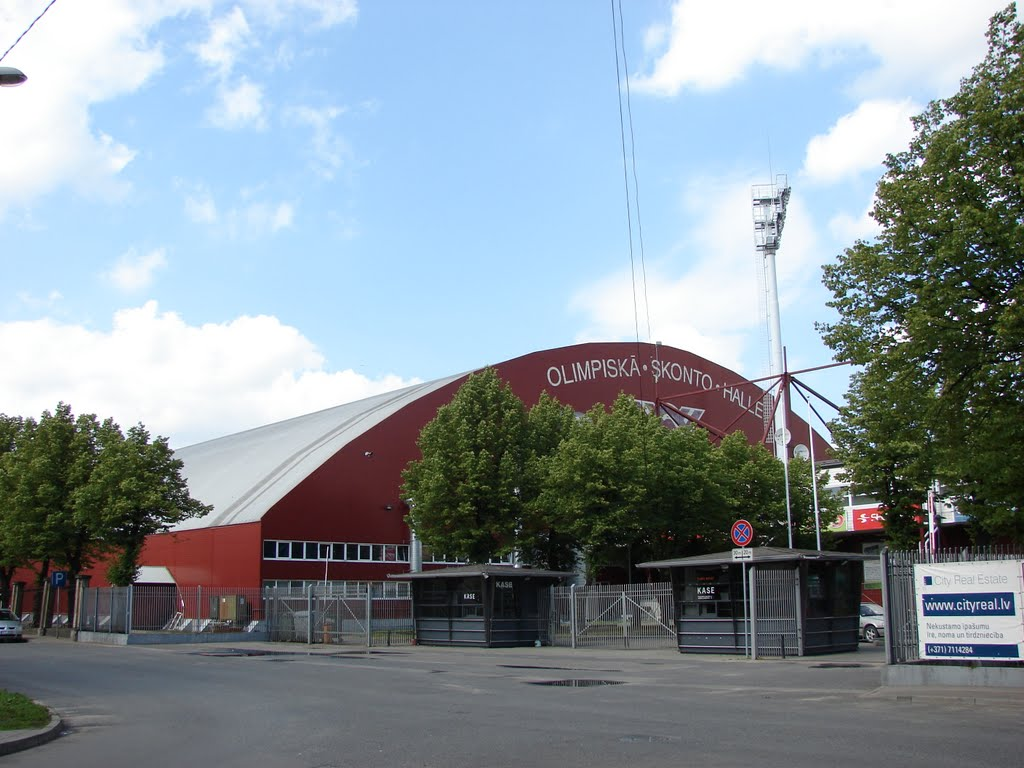 2003: Skonto Arena, Letonya Kapasite: 6500 Açılış: 2000