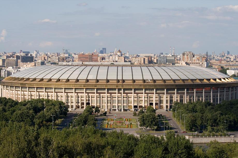 2009: Olimpiyskiy, Rusya Kapasite: 25000 Açılış: 1980