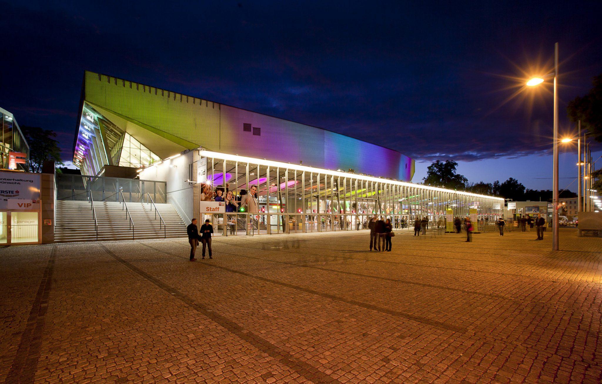 2015: Wiener Stadthalle, Avusturya Kapasite: 16000 Açılış: 1958