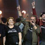 "Swedish Eurovision and Melodifestivalen Stars' Performance at ""Hela Sverige skramlar"""