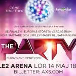 Tele2 Arena'da Dev Eurovision Partisi Yapılacak
