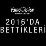 #Eurovision Dünyasından 2016 yılında Kaybettiğimiz İsimler