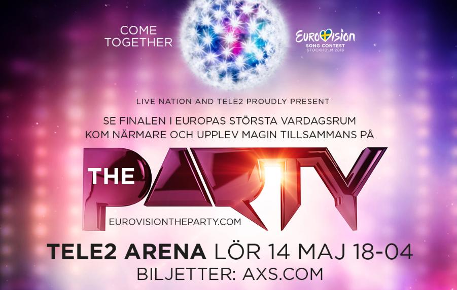 Eurovision Party Tele2 Arena